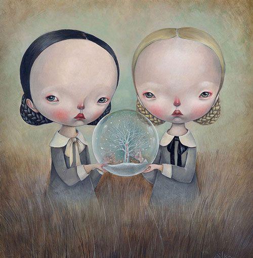 Ilustraciones de Dilka Bear: cuentos de hadas a pincel