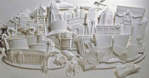 the savoy escultura papel jeff nishinaka