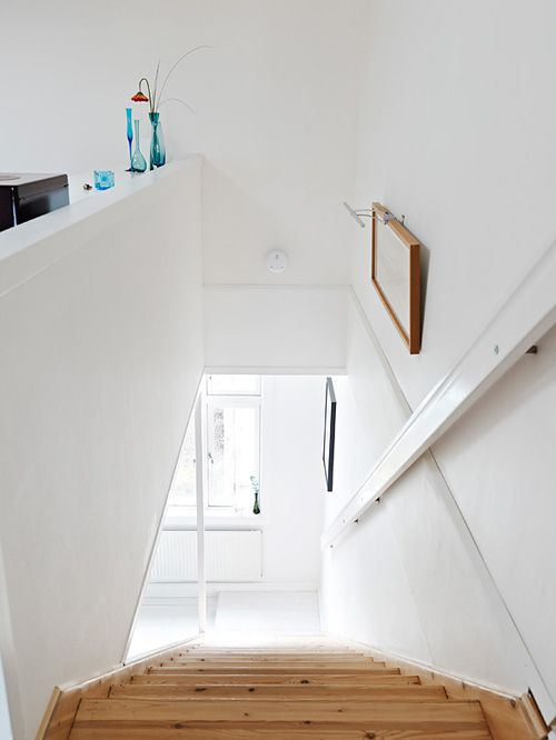 detalle escaleras casa nordica estocolmo suecia