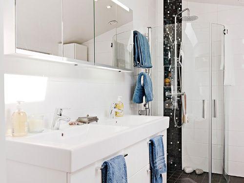 cuarto baño casa nordica estocolmo suecia
