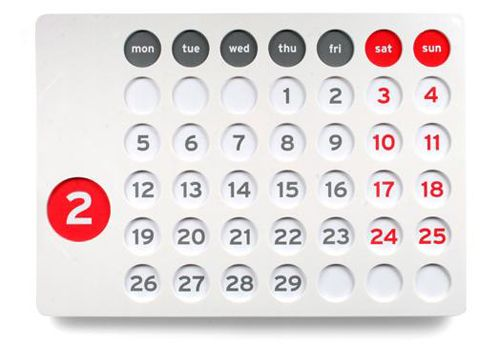calendario forever calendar juego mesa tres raya
