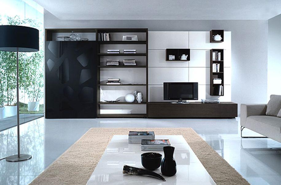 Tendencia minimalista en salones