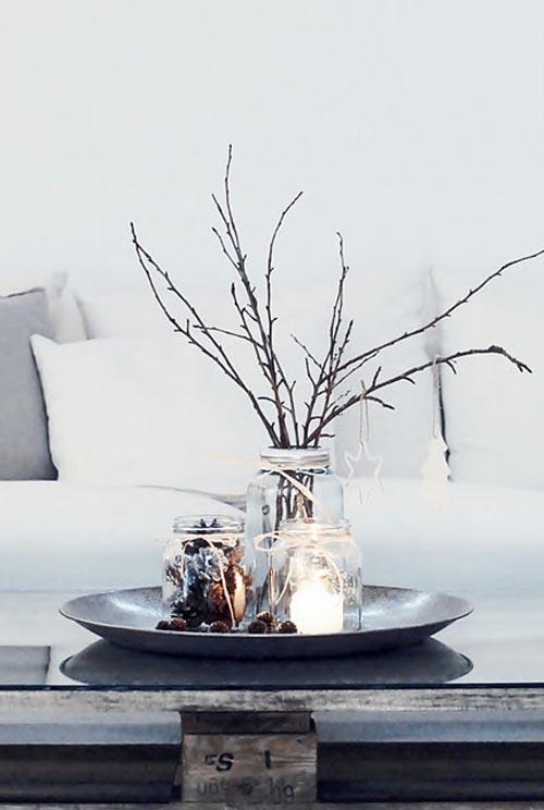 ramas navidad blanco
