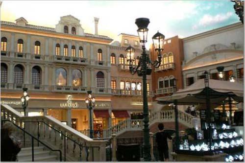 centro comercial lujo the grand canal shoppes