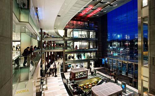 centro comercial lujo the shops at columbus circle