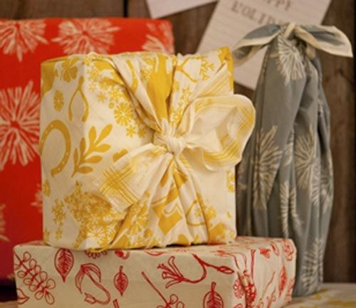 envoltorio regalo telas colores