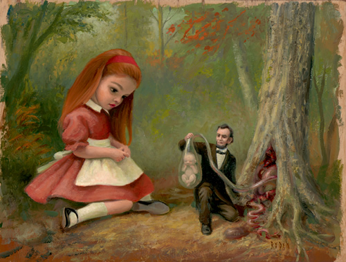 fetal trapping in northern california pintor mark ryden