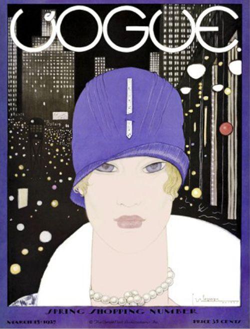 portada vogue georges lepape 1927