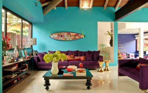 salon decoracion kitsch casaycolor.com