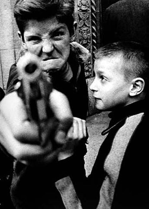gun 1 nueva york 1955 william klein