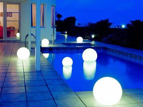 iluminacion diseño piscina planetadeco.com