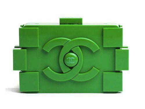 objetos de lujo bolso lego chanel