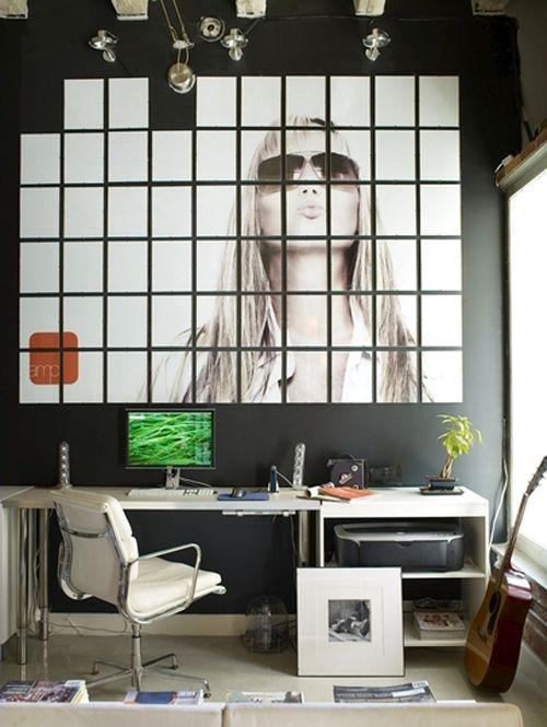 decoracion paredes mosaico foto agrandada