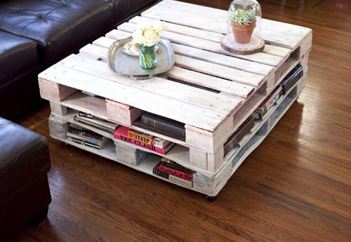 mesa palet DIY tugagreenfashion.wordpress.com