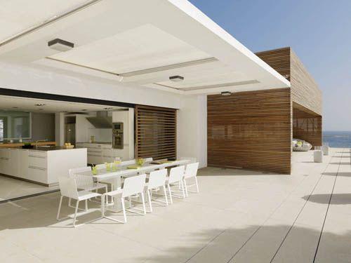 terraza cocina casa vistas mar