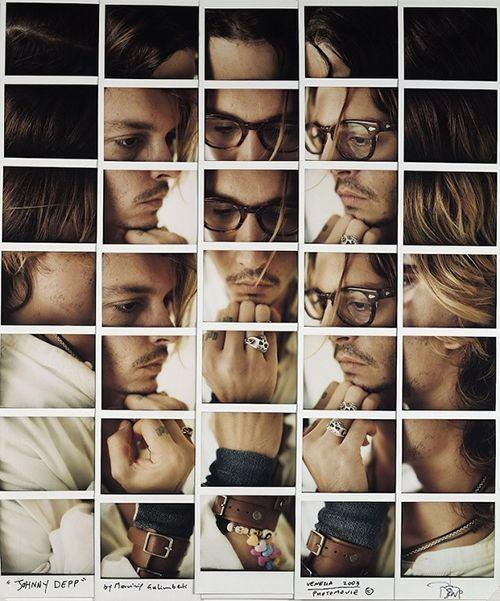 Maurizio Galimberti, composición en fotografía de los rostros de Hollywood