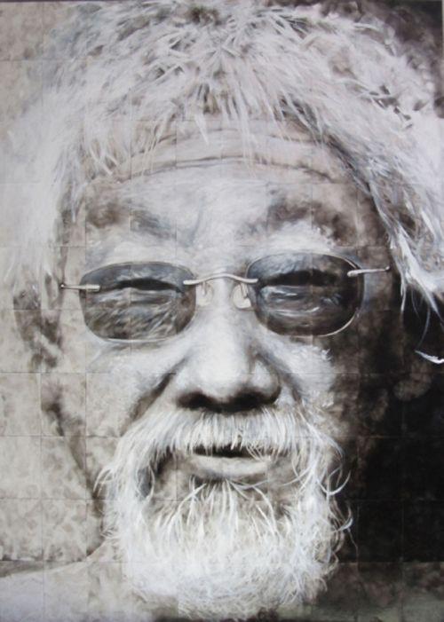 retrato david suzuki steven spazuk