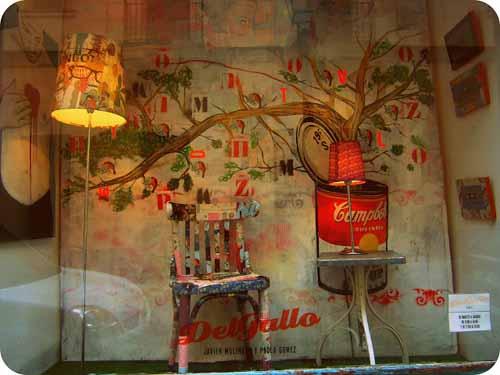 escaparate tienda decoracion delgallo facebook