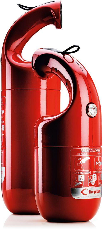 extintor diseño firephant ganador premio red dot