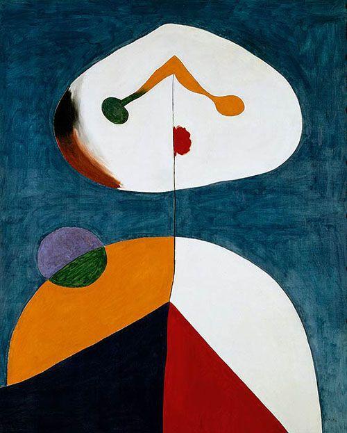 Retrato II, de Miró.