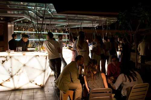 terraza exterior noche cocina san anton alacartaparados.es