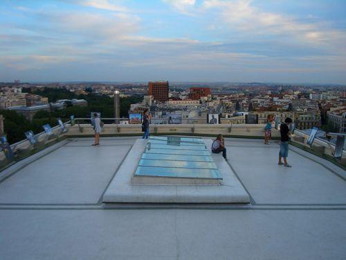 terraza azotea cba madrid revelandonos.blogspot.com