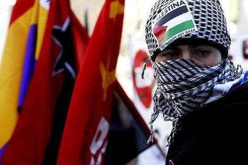 manifestacion contra guerra gaza madrid manu brabo