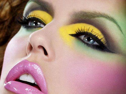 maquillaje moda colores fluor bodaclick.com