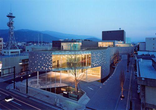 centro artes escenicas matsumoto arquitecto japones toyo ito