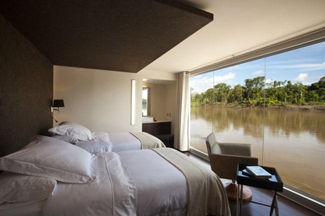 Aqua Expeditions, un hotel de lujo flotante