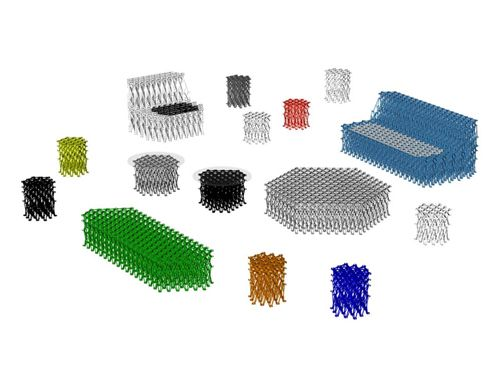 muebles construidos sistema xxxx_ yuya ushida designboom.com