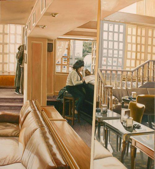 mujer leyendo prensa canfe milford jose miguel palacio