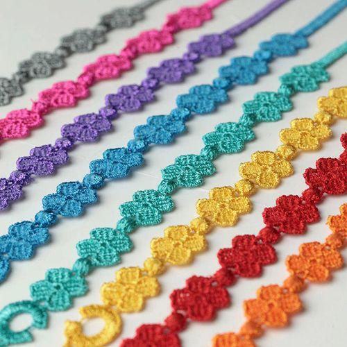 pulseras cruciani treboles colores facebook