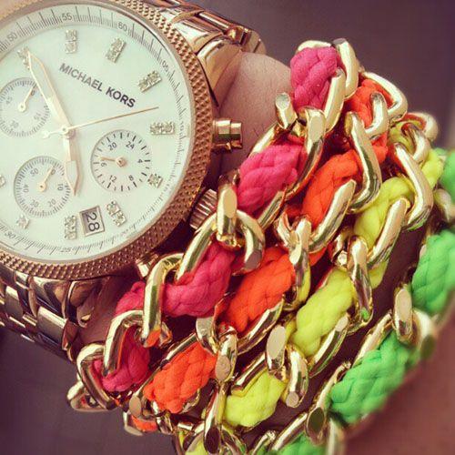 pulseras moda colores fluor newmanstyle.wordpress.com