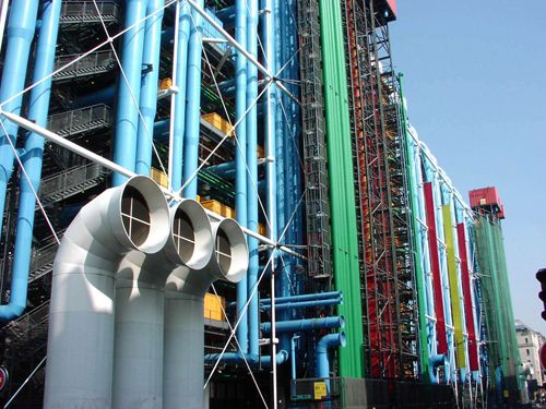 Centro Pompidou, más que un museo de arte moderno