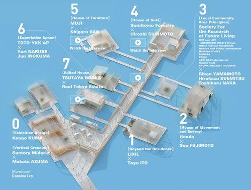 plano distribucion exposicion house vision designboom.com