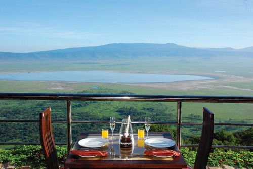 Hotel de lujo Ngorongoro Crater Lodge