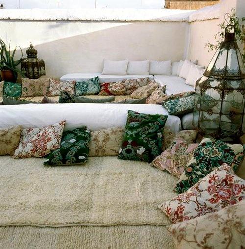 Diseño de patios con encanto: Morocco Style