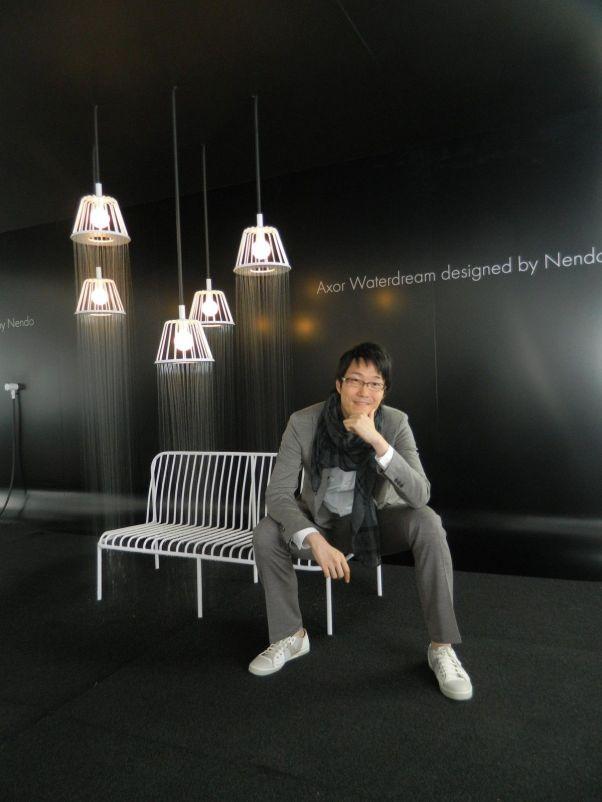 lampara ducha diseñador