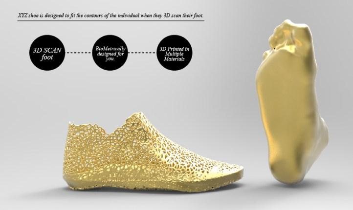 zapatillas diseño 3D