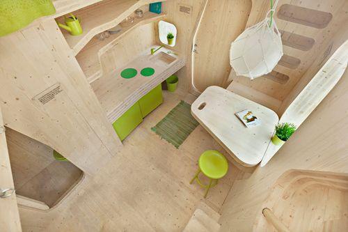 Diseño inteligente de viviendas para estudiantes