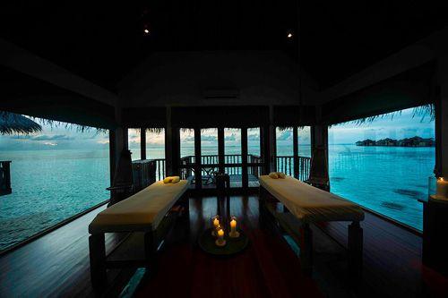 Spa resort Gili Lankanfushi.