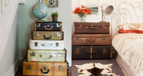 DIY maletas antiguas