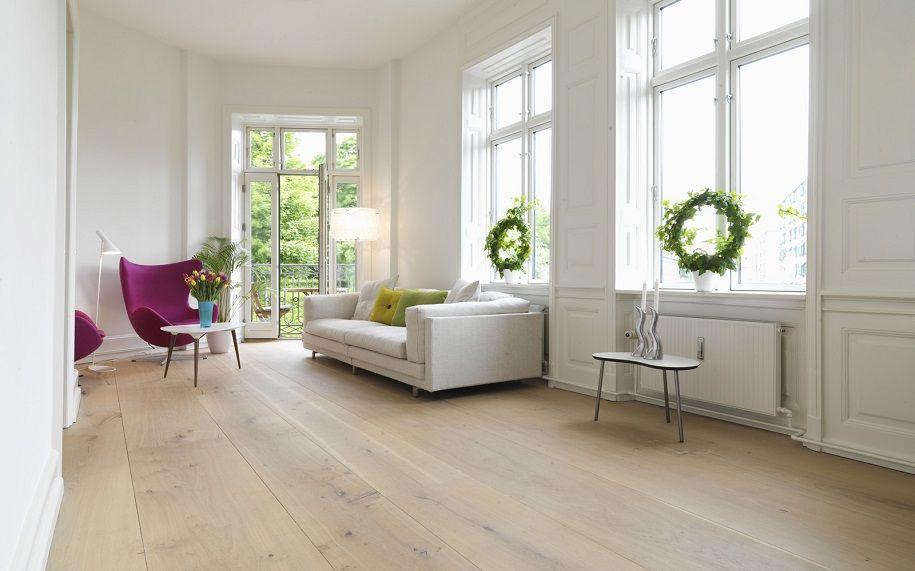 Decoración con suelos de madera, un toque acogedor