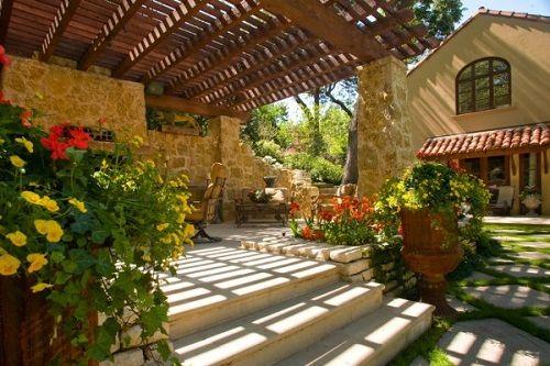terrazas de verano gargola madera
