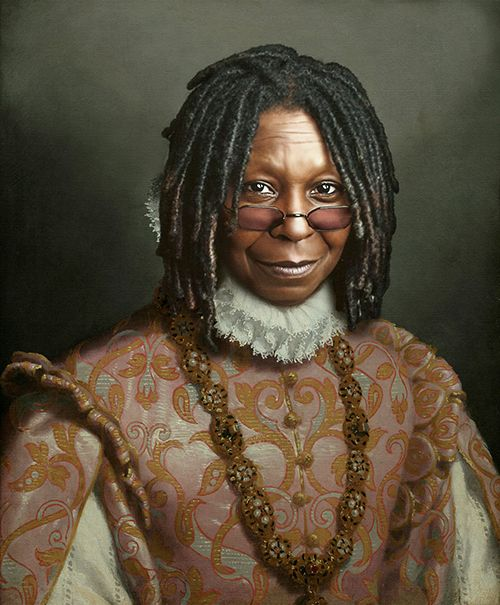 Retrato Whoopi Goldberg
