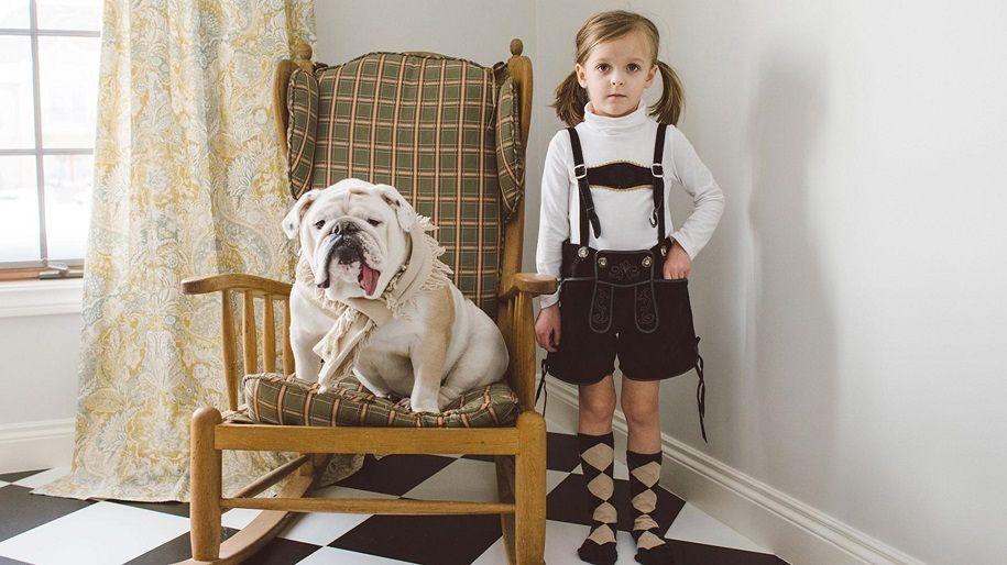 Los modelos más generosos: fotografías con perros