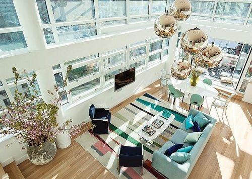 Apartamento neoyorquino con vistas