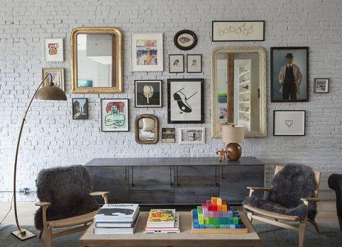 Apartamento vintage hipster en Brooklyn
