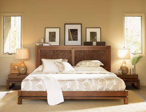 dormitorio colonial en blanco